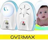 Overmax Babyline 2.1 de perfecte audio babyfoon met een bereik van 300 meter, en ingebouwd nachtlampje