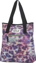 Replay School Shopper - Leopard