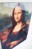 Schilderij Mona Lisa afgedrukt op hout (60 x 80cm)