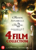 DVD cover van Annabelle 1 + 2 & The Conjuring 1 + 2
