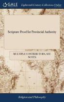 Scripture Proof for Provincial Authority