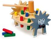 """Houten hamerbankje """"Egel"""" - Houten speelgoed vanaf 2 jaar"""