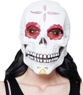 6 stuks: Masker Senora Calavera - Latex