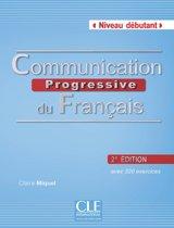 Communication progressive du français 2e édition - niveau débutant livre + CD audio