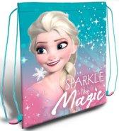 Frozen Elsa gymtas / zwemtas 40cm Sparkle like magic
