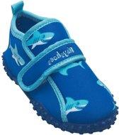 Playshoes UV strandschoentjes Kinderen Shark - Blauw - Maat 20/21