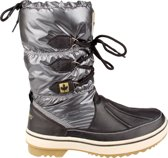 Winter-grip Snowboots Lace Up Antraciet Dames Maat 39