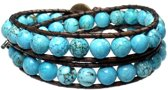 Bela Donaco Heren armband classic - Turquoise