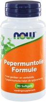 Pepermuntolie Formule (90 softgels) - NOW