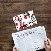 iPad Mini 4 Tablethoesje Design Skull Red