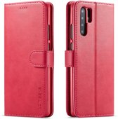 Huawei P30 Pro Hoesje - Luxe Book Case - Roze