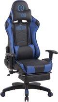 Clp Turbo XFM - Bureaustoel - Kunstleer - zwart/blauw