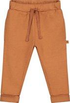 Smitten Organic - Unisex Babykleding Sweat Joggingbroek-  Sudan brown - Maat(80)