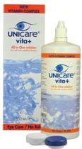 Unicare Lenzenvloeistof Vita+ Alles in een Voor Zachte Contactlenzen - 360 ml