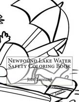 Newfound Lake Water Safety Coloring Book