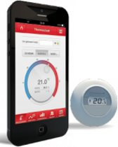 Honeywell Draadloze klokthermostaat Intergas HRE co ketel
