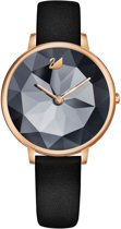 Swarovski Crystal Night horloge  - Zwart