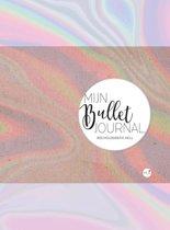 Mijn Bullet Journal - 80s Holografic + 4 stuks Gel Inkt Pennen Zebra Sarasa verpakt in een Zipperbag