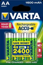 Varta AA Oplaadbare Batterijen - Ready2use 1600 mAh