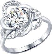SOKOLOV Jewelry Zilveren Ring - Zirkonia