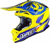 Just1 Crosshelm J32 Pro Rave Blue/Yellow-S