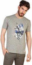 Heren T-shirt van U.S. Polo - grijs