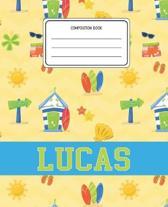 Composition Book Lucas