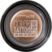 Maybelline Color Tattoo 24H - 35 On and On Bronze - Bruin - Oogschaduw