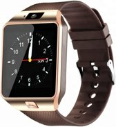 Bluetooth SmartWatch - Android / IOS - Goud