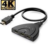 MMOBIEL HDMI Switch - Splitter - 3 In naar 1 Uit - 4K - Ultra HD - 1080 - Full HD