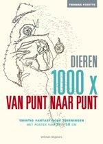 1000x van punt naar punt - Dieren