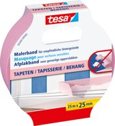 tesa Washi Sensitive Afplakband - 1 stuk - 1 x 25 mm - 25 m