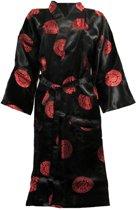 Essenza Ornament - Kimono - Maat M - Zwart