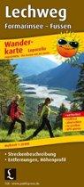 Lechweg Formarinsee - Füssen 1 : 25 000 Wanderkarte