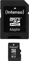 Intenso 8GB Micro SDHC 8GB Micro SDHC Class 10 flashgeheugen