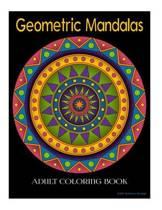 Geometric Mandala Adult Coloring Book