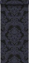 Origin behang ornamenten zwart en paars - 346523