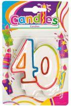 Verjaardagskaars - 40 jaar
