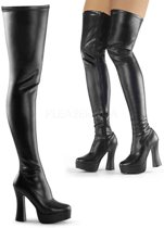 EU 42,5 = US 12 | ELECTRA-3000Z | 5 Stack Heel, 1 1/2 PF Thigh High Boot