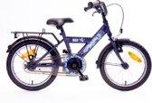 Kinderfiets Bike Fun Camouflage 18 inch blauw