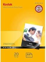 Kodak Ultra Premium - Inkjet fotopapier - 20 Vel Satin