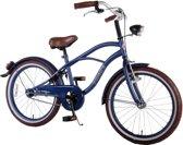 Volare Blue Cruiser - Kinderfiets - 20 inch - Jongens - Blauw