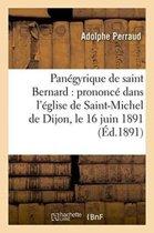 Pan�gyrique de Saint Bernard