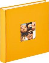 Walther Design FA-208-I Fun - Fotoalbum - 30 x 30 cm - 100 pagina's - Geel