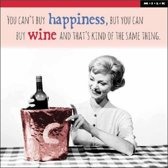 MILK - Kaart - you can't buy happiness, but you can buy wine
