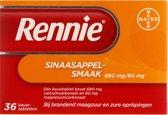 Rennie Sinaasappel - 36 Tabletten - Maagzuurremmers