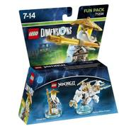 LEGO Dimensions: Sensei Wu - Fun Pack 71234