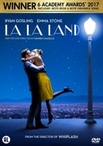 DVD cover van La La Land