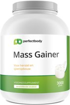 Mass Gainer - 3000 Gram - Banaan - PerfectBody.nl
