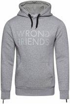 Wrong Friends London Hoodie Grey/Grey